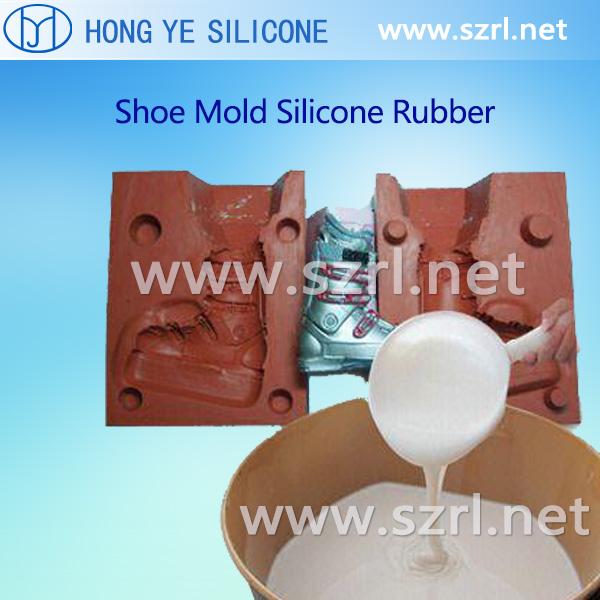 Liquid Rtv 2 Shoe Mold Silicone Rubber Mold Making Silicone