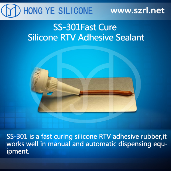 SS-301 Fast Cure Silicone RTV Adhesive Sealant
