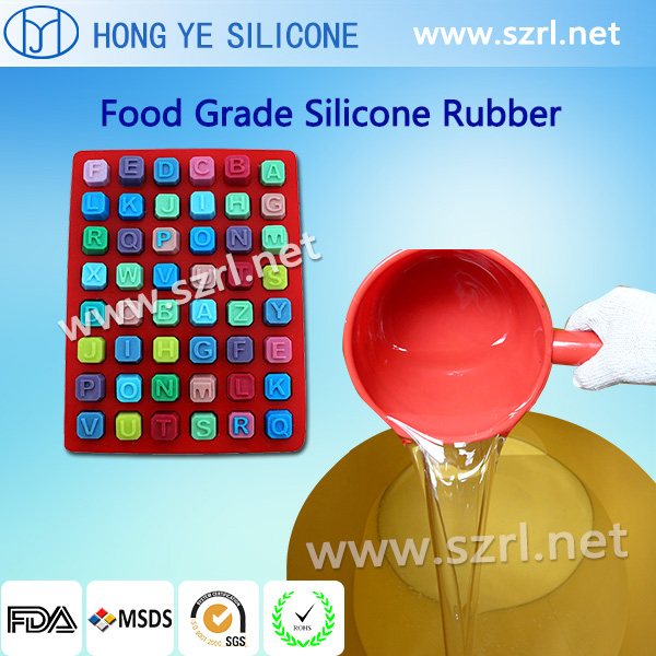 RTV silicone for food mold making