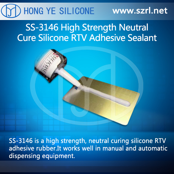 SS-3146 High Strength Neutral Cure Silicone RTV Adhesive Sealant