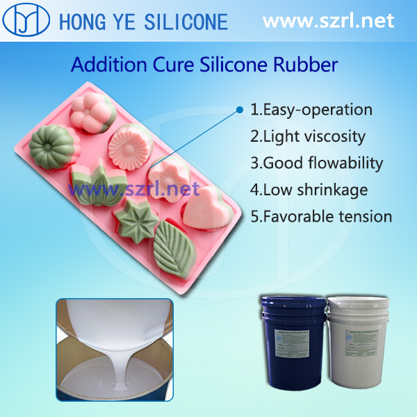 Food Grade Silicone Rubber for Cake mold