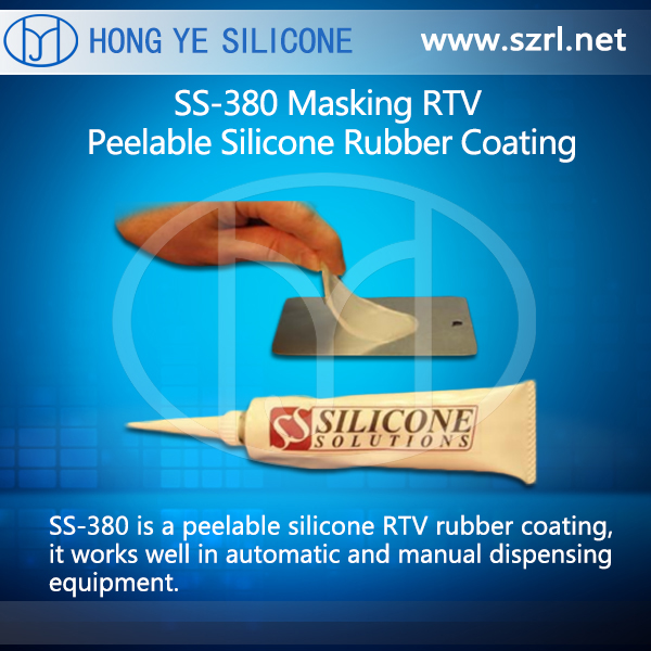 SS-380 Masking RTV Peelable Silicone Rubber Coating