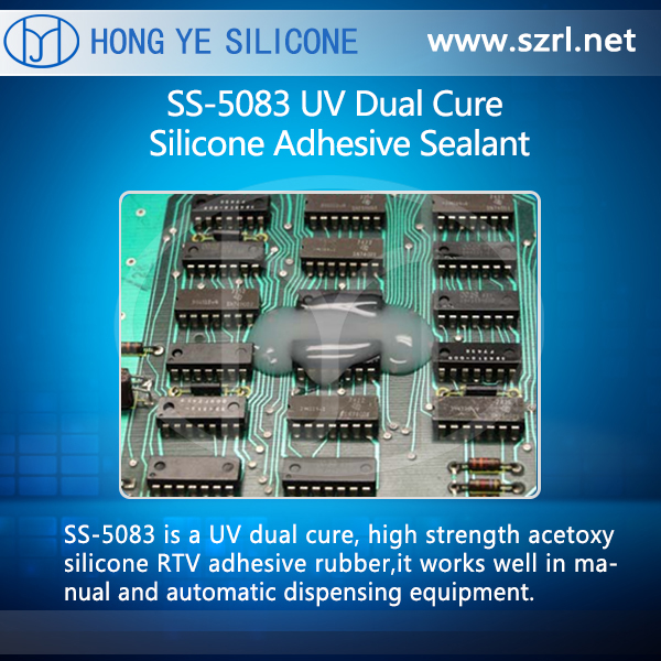 SS-5083 UV Dual Cure Silicone Adhesive Sealant