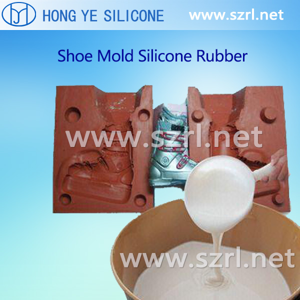 Silicone rubber for shoe sole mold
