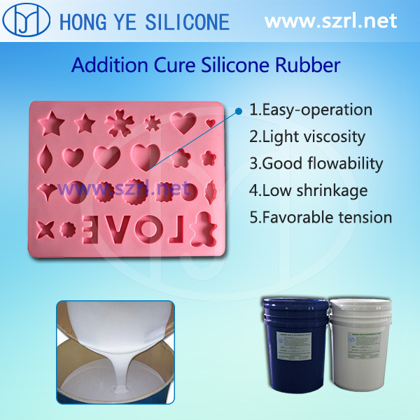 Food safe silicone for cake mould