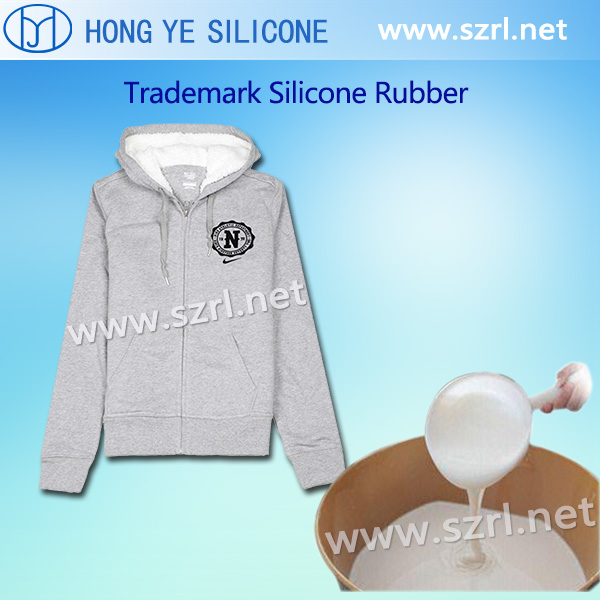Silicone rubber for silk screen printing