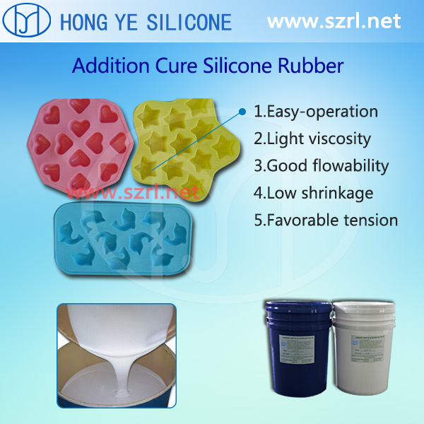 Jelly Tray Molding Silicone Rubber