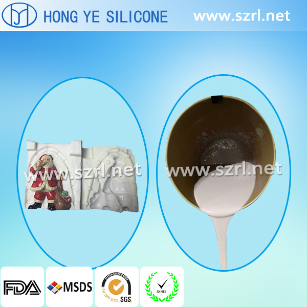 RTV2 Silicone Rubber for Craftwork Gifts