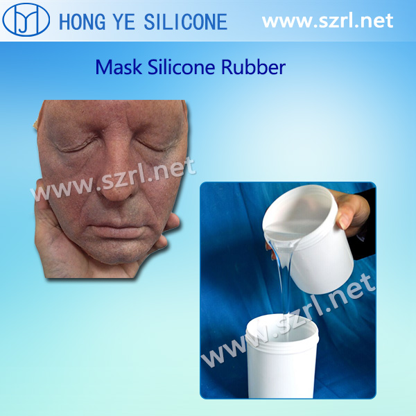 Life casting silicone rubber for mask making