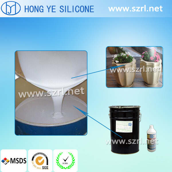 RTV2 Silicone Rubber to Make Rock for Artificial Mold