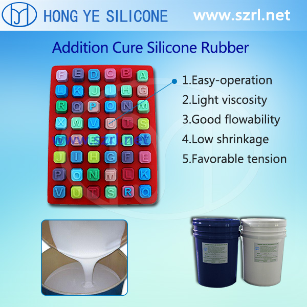 FDA Food grade liquid silicone rubber for food mold