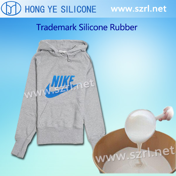 Silk screen printing silicone