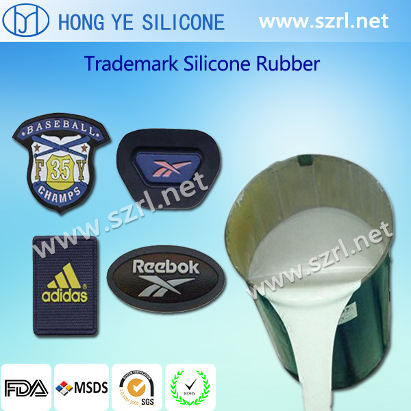 Trademark Silicone Rubber for Making Labels