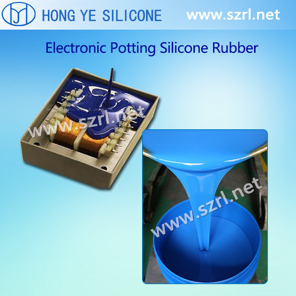 Addition electronic potting compound