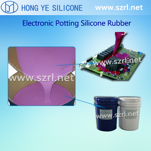 Addition cure electronic potting silicone