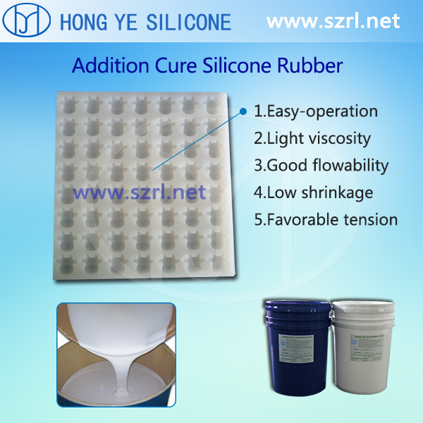 Food grade silicone rubber for candy molds making