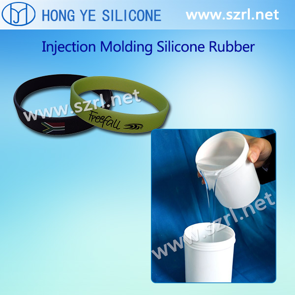 Silicone rubber for injection molding