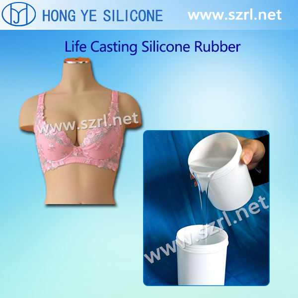 Life casting silicone for sex dolls